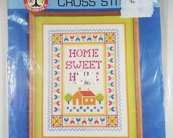 Counted Cross Stitch Kit Home Sweet Home UNOPENED
