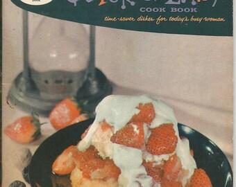 Vintage 1958 Good Housekeeping's Quick 'N' Easy Cook Book