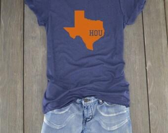 Houston Shirt - Houston - Texas Shirt - Houston Baseball
