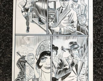 Original Art Page 86 from The Tommy Gun Dolls Vol. 1 SIGNED
