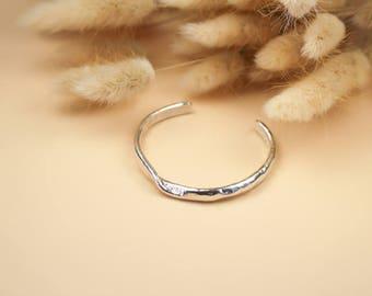 Cuff Bracelet- Gold cuff bracelet, simple bracelet, Stacking bracelet, Open bangle bracelet, Skinny cuff, Adjustable cuff