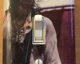 Keith Richards Light Switch Plate