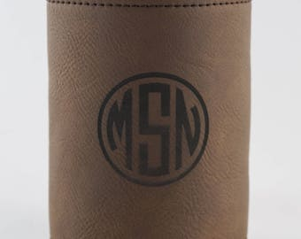 Groomsman Can Cooler - Personalized Groomsmen Gifts - Monogram Can Coozies - Personalized Can Holder - Bridesmaid Can Cooler