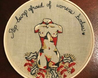 Women's Bodies Embroidery