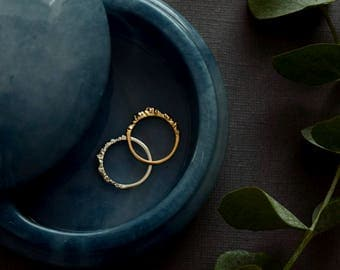 Mountain Ring Nature Jewelry Nature Ring Textured Ring Nature Wedding Ring Mountain Jewelry (Low Version)