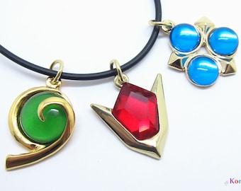 Zelda Spiritual Stones Necklaces (Full 3 Set)