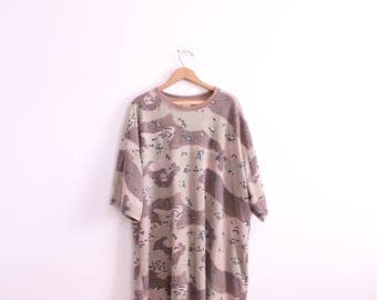Baggy Camo 90s Thermal Tee