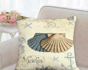 Yacht Club Beach Pillow