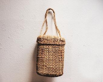 Vintage Basket Bag