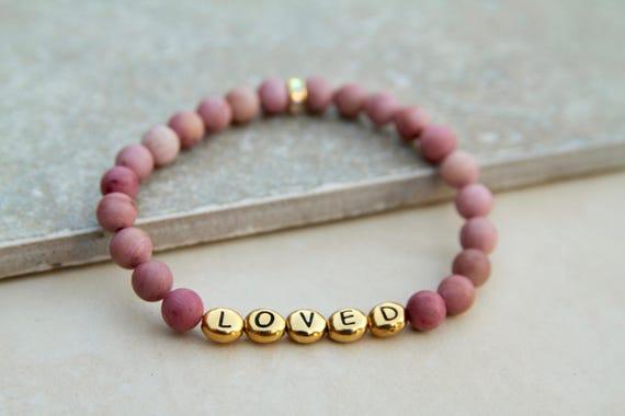 Loved   Vision Bead Bracelet