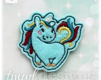 """Unicorn A Feltie Digital Design File - 1.75"""""""