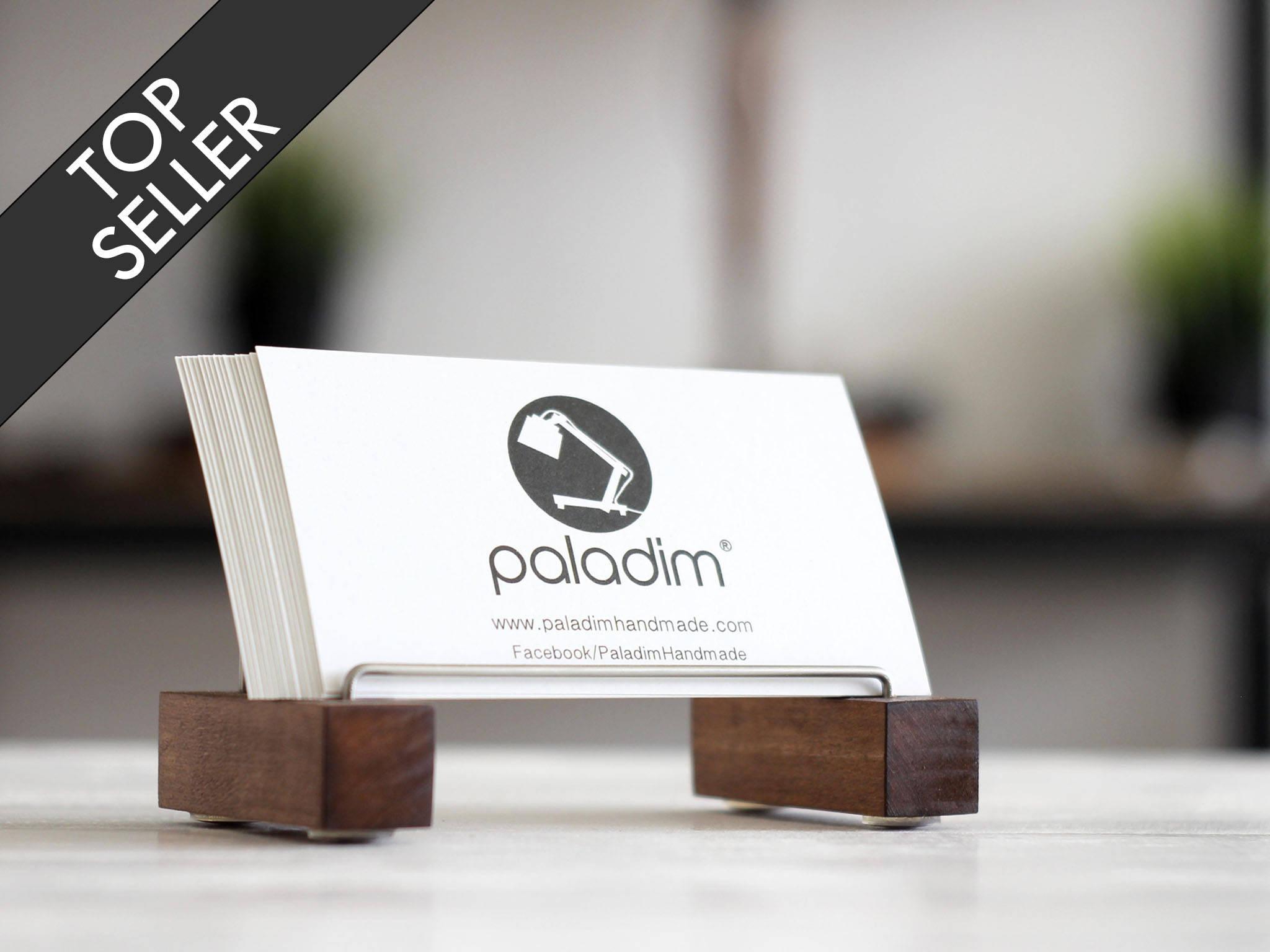 desk card holder business card holder desk decor business