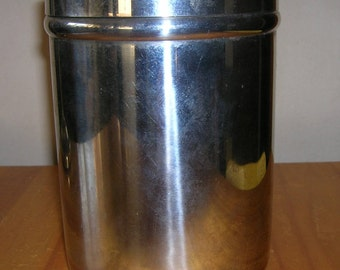 Vintage Vollrath Canister Medical Gauze Container Stainless Steel 8802