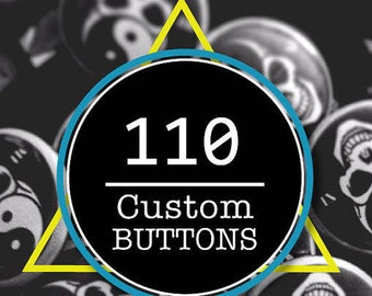 Custom Buttons , Custom Pins