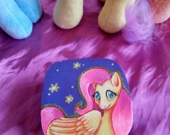 Fluttershy Hand-Painted Box