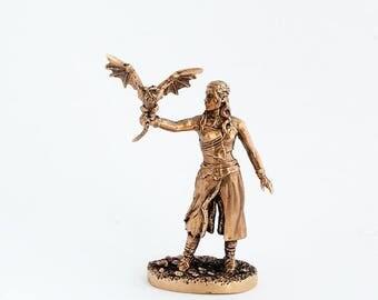 40mm Daenerys Targaryen, Game Of Thrones brass miniature