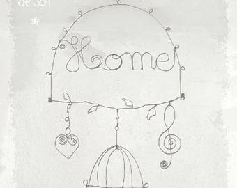 Home welcome - wireframe