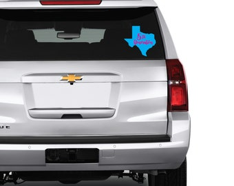 YOUR Generation Texan Bumper Decal LAPTOP Car Decal Texas Decal Love Home 5th Gen 4th Gen 3rd Gen 2nd Gen
