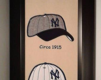 New York Yankees Heritage Team Banner....Framed
