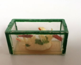 Vintage 1960's Barton Dolls House Fish Tank