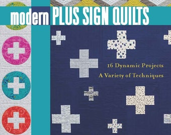 Pre-Order Modern Plus Sign Quilts Book