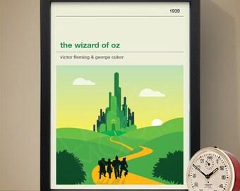 The Wizard of Oz Movie Poster - Movie Poster, Movie Print, Film Poster, Film Print