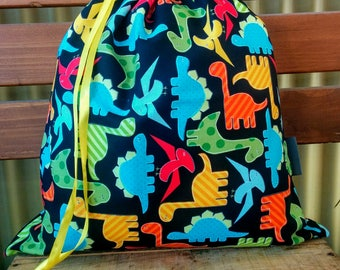 Kids Library/Toy Bag - Dinosaurs.