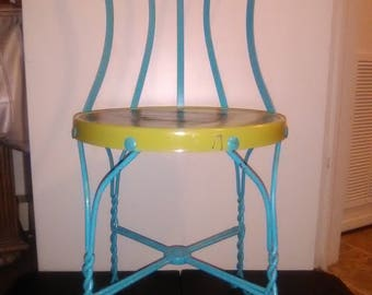 Vintage Decorative Ice Cream Parlor Chair