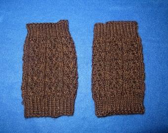 Dark Brown Boot Cuffs