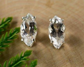 Silver Topaz Sterling Silver Earrings