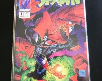 "Vintage Image Comic Book, ""Spawn"", #1, May 1992"