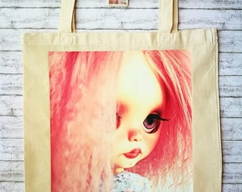Shopping bag for human & doll