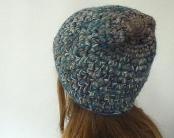 crochet hat, crochet beanie, warm winter beanie