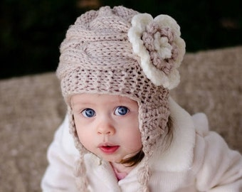 ON SALE 20% DISCOUNT Baby Girl Hat and Leg Warmers-Newborn Baby Girl -Photography Photo Prop Set -Newborn Leg Warmers and Hat