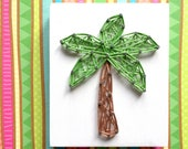 MADE TO ORDER String Art Mini Palm Tree Sign