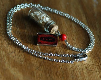 Dracula's Servant Charm Necklace