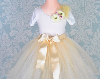Flower Girl Tutu, Tutu, Girls Tutu, Baby Tutu, Wedding Tutu, Bridesmaid Tutu, Flower Girl Dress, Ballet Tutu, Tutu Skirt, Long Tutu, Tutu