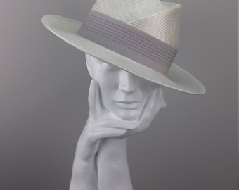 Elegant trilby fedora hat suitable for Ascot,Cheltenham Races,Melbourne Cup, summer holiday hat