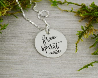 Free Spirit Necklace in Sterling Silver