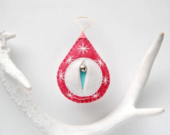 The Original Vaginament Christmas Tree Ornament midewife appreciation nursing student obgyn doctor thank you {Big Snowy Dorothy}