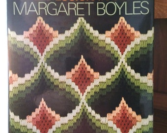 Bargello: An Explosion in Color by Boyles, Margaret Boyles hc. 1974