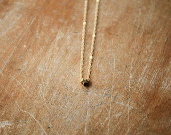 Dainty Star Layering Necklace - Gold Charm Necklace - Layering Jewelry - Bend Oregon - 14k Gold - Dainty Necklace - Short Necklace MH23