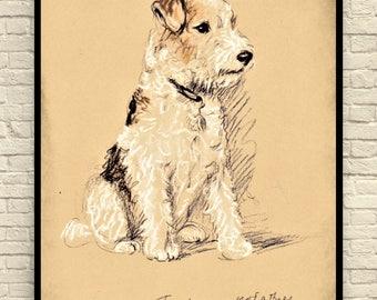 Lucy Dawson Dog Print, Vintage Dog Print, Boston Terrier Dog Print, Antique  Dog Prints, Dog Illustration, 1930's Lucy Dawson Dogs, Dog Art