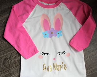 Easter Bunny Shirt, Easter Shirt, Personalized Easter Shirt
