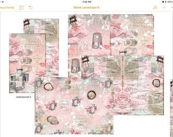 Pink Junk journal