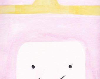 Princess Bubblegum Print
