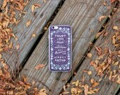 """iPhone Case - Proverbs 3 """"Trust in the Lord"""" - iPhones 6/7/8/X and plus sizes"""