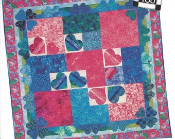 Two Hearts as One (Quilt Pattern) by From Me to You [2004]