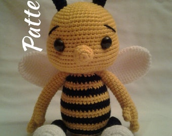 PATTERN - Baby Bee Bumble - Crochet Amigurumi Pattern