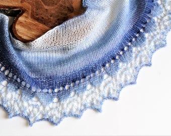 Blue Scarf,Warm Scarf,Triangle Shaped Scarf,Winter Scarf,Wool Scarf,Blue Scarf,Blue Scarves,Handmade Scarf,Winter Scarves,Handmade Scarves